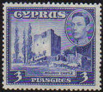 Cyprus Stamps SG 156a 1942 3 Piastres - MINT