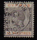 Cyprus Stamps SG 115 1924 18 Piastres - USED (d318)