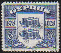 Cyprus Stamps SG 128 1928 6 Piastres - USED (d393)