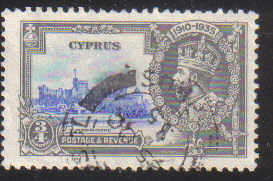 Cyprus Stamps SG 144 1935  3/4 Piastre - USED (d343)