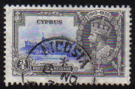 Cyprus Stamps SG 144 1935 3/4 Piastre - USED (d345)