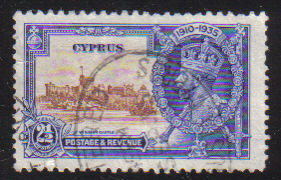 Cyprus Stamps SG 146 1935  2 1/2 Piastres - USED (d346)
