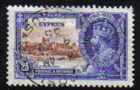 Cyprus Stamps SG 146 1935 2 1/2 Piastres - USED (d347)