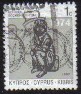 Cyprus Stamps 1992 Refugee Fund Tax SG 807 - USED (g579)