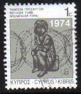 Cyprus Stamps 2002 Refugee Fund Tax SG 807 - USED (g549)