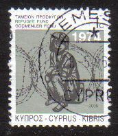 Cyprus Stamps 2005 Refugee Fund Tax SG 807 - USED (e086)