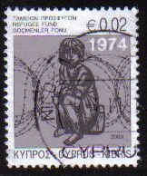 Cyprus Stamps 2009 Refugee Fund Tax SG 1181 - USED (e316)