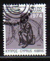Cyprus Stamps 2009 Refugee Fund Tax SG 1181 First day of issue - CTO USED (a731)