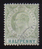 Gibraltar Stamps SG 0046 1903 Halfpenny - USED (d463)
