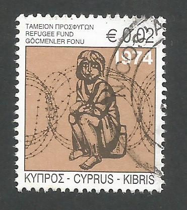Cyprus Stamps 2010 Refugee Fund Tax SG 1218a - USED (k673)