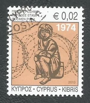 Cyprus Stamps 2013 Refugee Fund Tax SG 1290 - USED (k670)