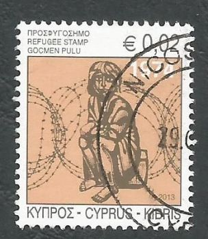 Cyprus Stamps 2013 Refugee Fund Tax SG 1290 - USED (k669)