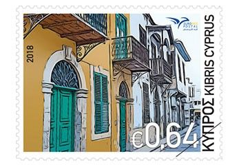 Cyprus Stamps Euromed 2018 - Houses of the Mediterranean
