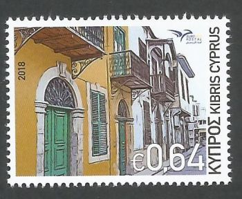 Cyprus Stamps SG 1441 2018 Euromed Houses of the Mediterranean - MINT