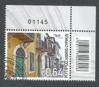 Cyprus Stamps SG 2018 (f) Euromed Houses of the Mediterranean - CTO USED (k726)