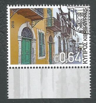 Cyprus Stamps SG 1441 2018 Euromed Houses of the Mediterranean - CTO USED (k727)