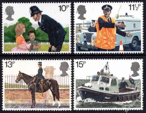 British Stamps 1979 Police - MINT (k782)