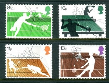 British Stamps 1977 Racket sports - MINT (k788)