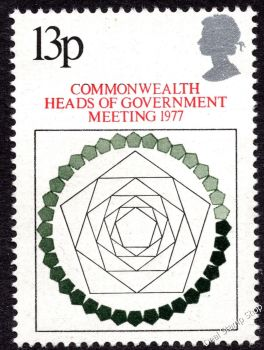 British Stamps 1977 Commonwealth Heads of Government Meeting London - MINT (k787)