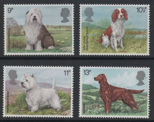 British Stamps 1979 Dogs - MINT (k784)