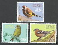 Cyprus Stamps SG 2018 (h) Birds of Cyprus - MINT