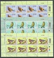 Cyprus Stamps SG 2018 (h) Birds of Cyprus - Full Sheet MINT