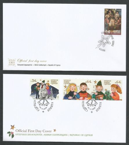 Cyprus Stamps SG 2018 (I) Christmas 2018 - Official FDC