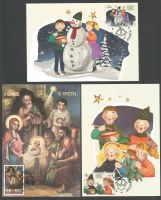 Cyprus Stamps Maxim Postcard Type 20 2018 Christmas