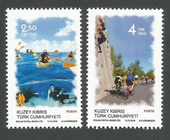 North Cyprus Stamps SG 2018 (f) Outdoor Sports - MINT