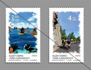 North Cyprus Stamps SG 2018 - Outdoor Sports