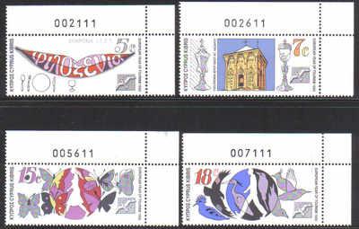 Cyprus Stamps SG 776-79 1990 Tourism - MINT (d501)