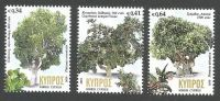 Cyprus Stamps SG 2019 (b) Centennial trees in Cyprus - MINT