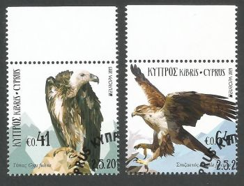Cyprus Stamps SG 2019 (d) Europa National Birds - CTO USED (k839)