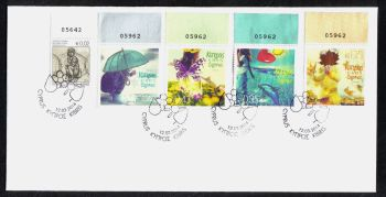 Cyprus Stamps SG 2014 (b) The four seasons of the year - Unofficial FDC (h742)
