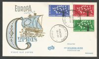 Cyprus Stamps SG 224-26 1963 Europa Tree -  Fidacos Unofficial FDC (k850)