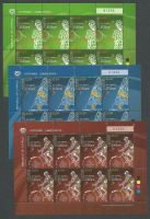 Cyprus Stamps SG 1190-92 2009 XIII Games of the Small States of Europe - Full sheet MINT