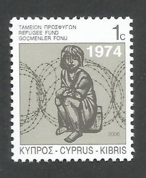 Cyprus Stamps 2006 Refugee Fund Tax SG 807 - MINT