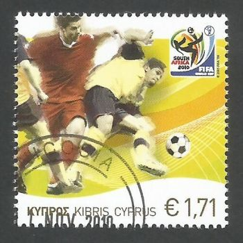 Cyprus Stamps SG 1218 2010 Fifa World Cup Football - USED (k908)
