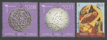 Cyprus Stamps SG 1233-35 2010 Christmas - CTO USED (k903)