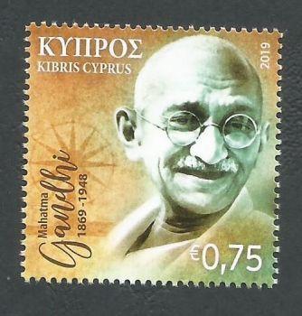 Cyprus Stamps SG 2019 (g) 150th Birth anniversary of Mahatma Gandhi - MINT
