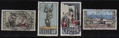 Cyprus Stamps SG 252-55 1964 Wine Industry - USED (b194)
