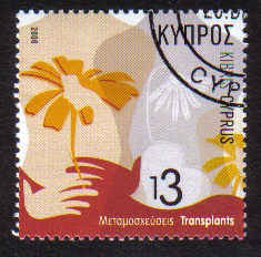 Cyprus Stamps SG 1115 2006 Transplants - USED (b541)