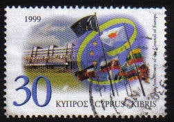 Cyprus Stamps SG 971 1999 Council of Europe - USED (c651)