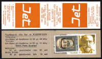 Cyprus Stamps Advertising Booklet Jet Orange - MINT  (d707)