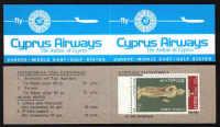 Cyprus Stamps Advertising booklet - Cyprus Airways MINT (d711)