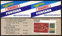 Cyprus Stamps Advertising booklet - Cyprina Viagrex Fontana MINT (d714)