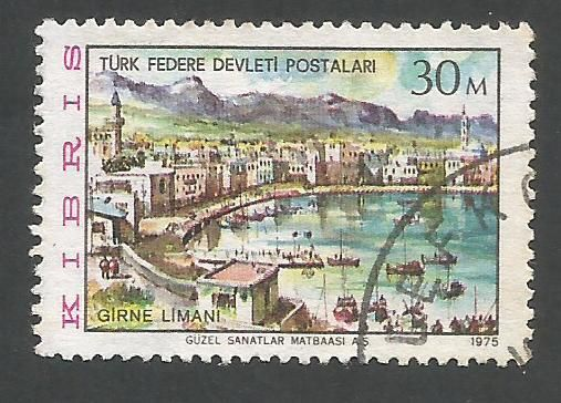 North Cyprus Stamps SG 015 1975 30m - USED (L028)