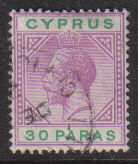 Cyprus Stamps SG 087 1921 30 Paras - USED (d737)