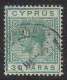 Cyprus Stamps SG 088 1923 30 Paras - USED (d739)