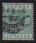 Cyprus Stamps SG 088 1923 30 Paras - USED (d740)